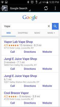 Vape stores screenshot 4