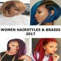 WOMEN BRAIDS & HAIRSTYLES 2019