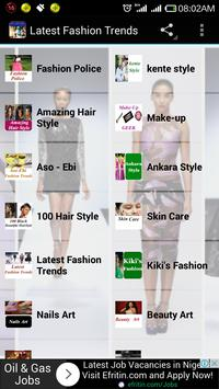 Latest Fashion Trend poster