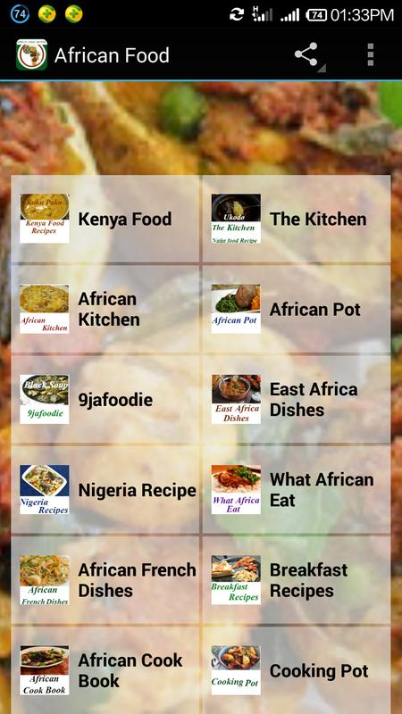 African food recipes apk download free health fitness app for african food recipes apk screenshot forumfinder Images