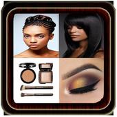 Hairstyles, Makeup Tutorial icon