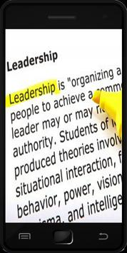 Leadership Definition apk screenshot