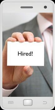 Jobs Hiring poster