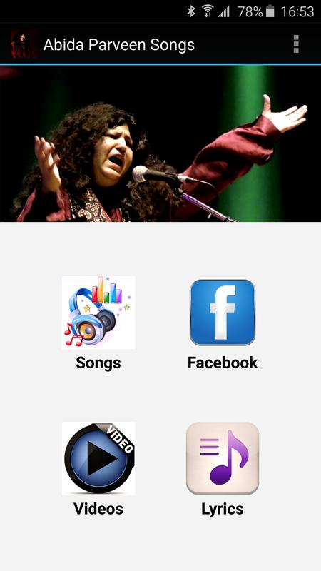 Abida Parveen Songs For Android