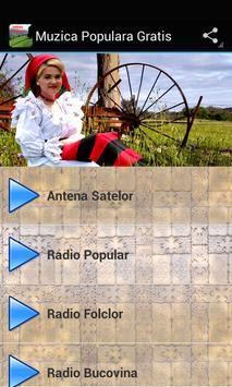 Muzica Populara Gratis poster