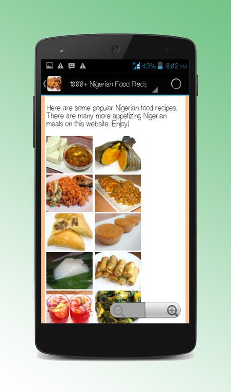 1000 nigerian food recipes apk download free health fitness app 1000 nigerian food recipes apk screenshot forumfinder Image collections