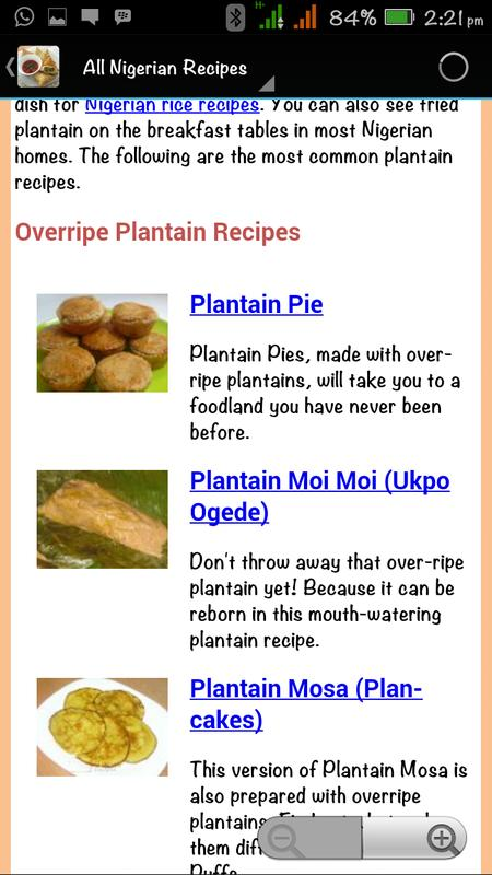 All nigerian food recipes descarga apk gratis salud y bienestar all nigerian food recipes captura de pantalla de la apk forumfinder Image collections