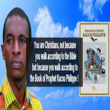 Prophet Phillippe Kacou poster