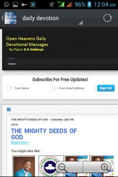 OPEN HEAVENS RCCG screenshot 2