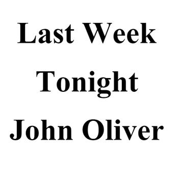 Last Week Tonight-John Oliver poster