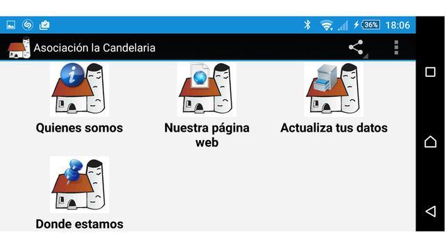 Asociación la Candelaria apk screenshot