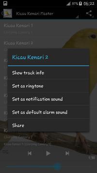 Kicau Pemikat Kenari Master screenshot 2