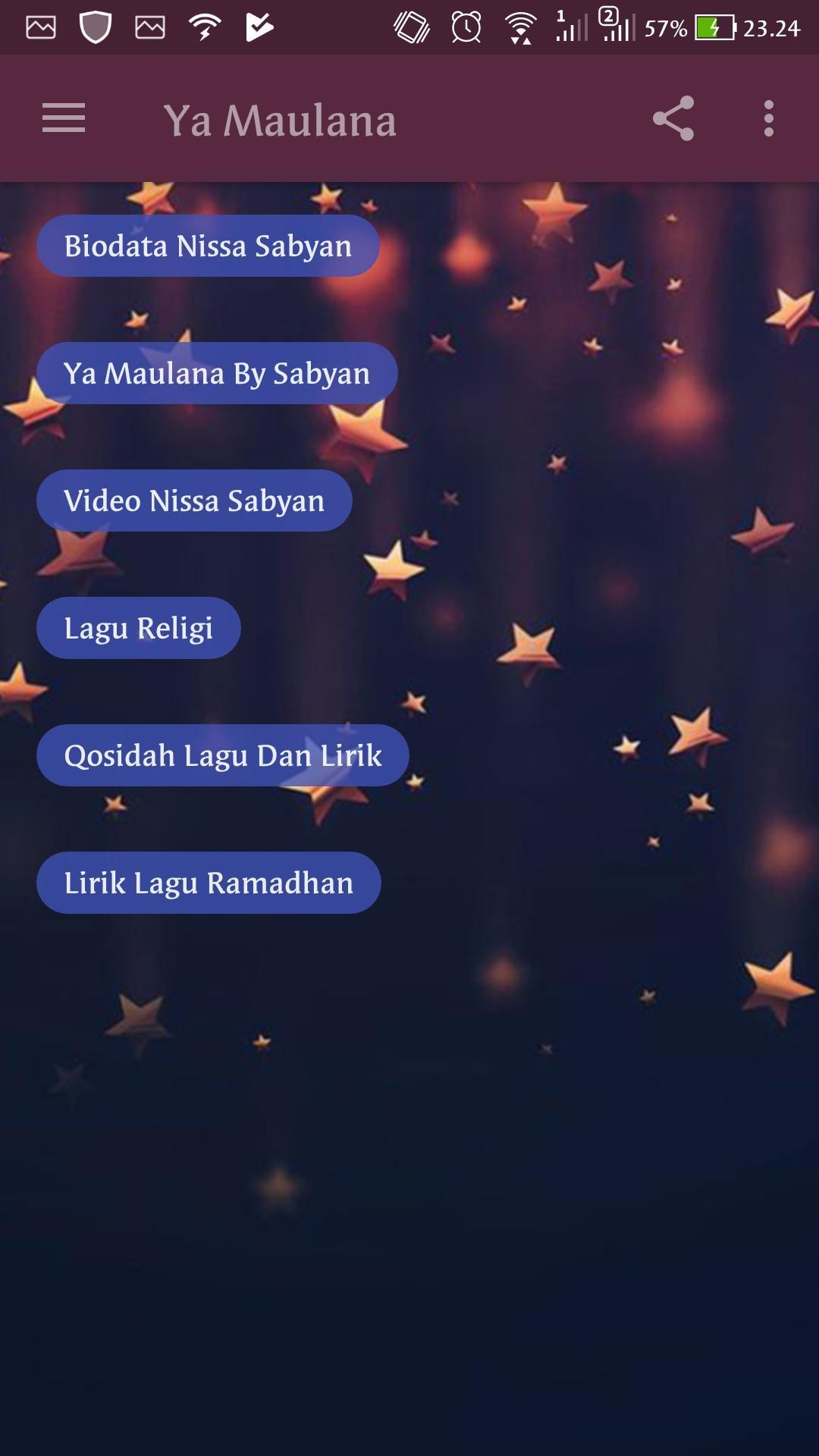 download lagu sabyan ya ramadhan