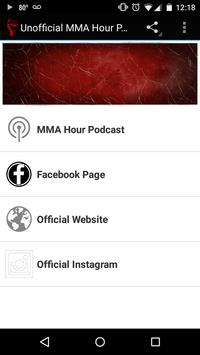 Unofficial MMA Hour Podcast poster