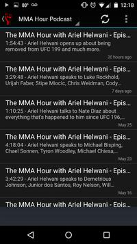 Unofficial MMA Hour Podcast screenshot 1