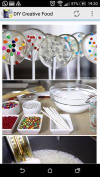 DIY Creative Food apk screenshot