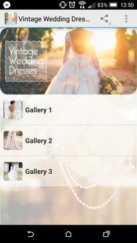 Vintage Wedding Dresses poster