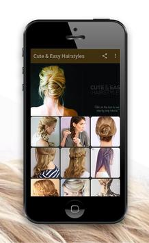 Cute & Easy Hairstyles poster