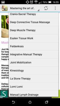 Massage Therapy Techniques apk screenshot