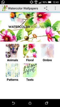 Watercolor Wallpapers poster