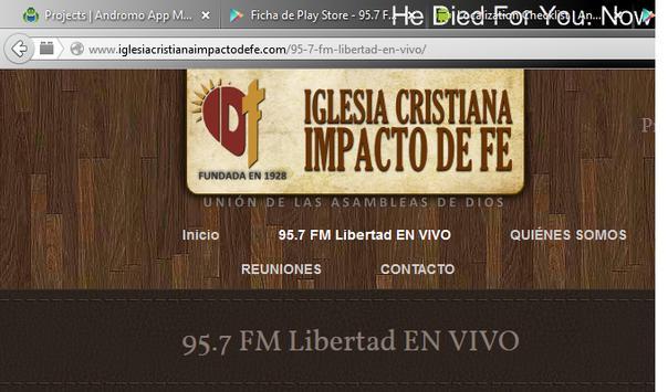 95.7 Fm Libertad screenshot 1