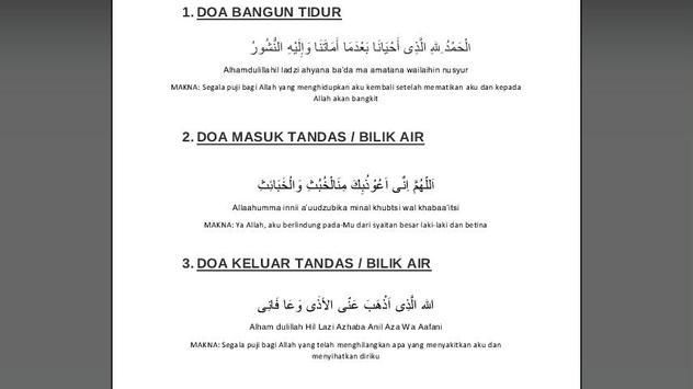 Koleksi Zikir Dan Doa Harian Poster