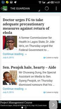 Naija breaking news screenshot 6