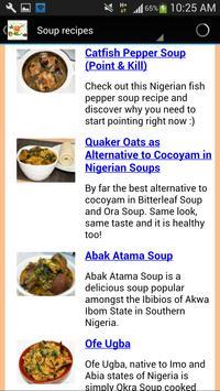 Nigerian food recipes poster