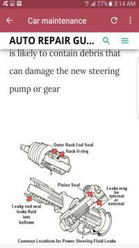 Car problems & solutions screenshot 8