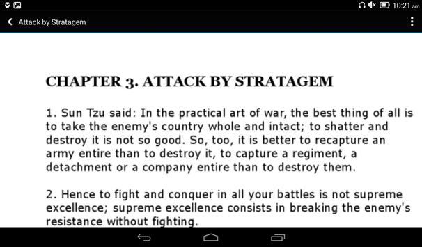 The Art of War screenshot 2