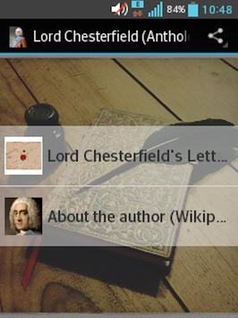 Lord Chesterfield (Anthology) apk screenshot