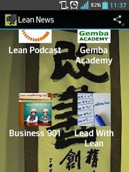 Lean News poster
