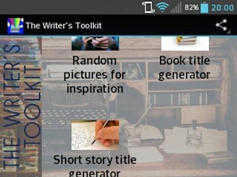 The Writer's Toolkit poster