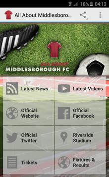 All About Middlesbrough FC poster
