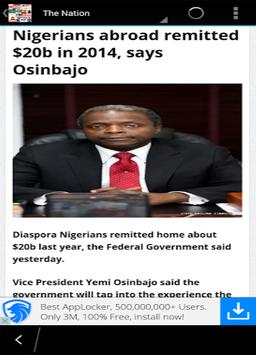 Nigerian News apk screenshot