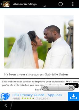 Ghana Weddings apk screenshot