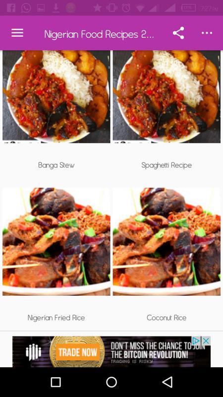 Nigerian food recipes 2018 apk download free health fitness app nigerian food recipes 2018 apk screenshot forumfinder Choice Image