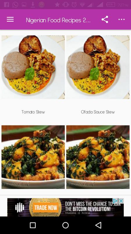 Nigerian food recipes 2018 apk download free health fitness app nigerian food recipes 2018 apk screenshot forumfinder Gallery