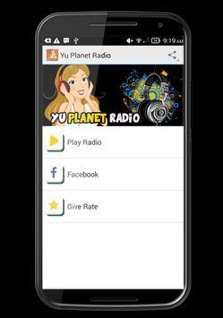 Yu Planet Radio Live screenshot 1