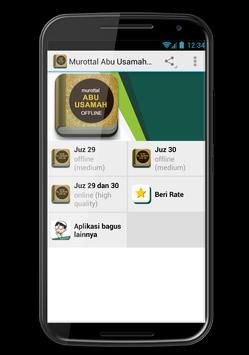 Murottal Abu Usamah Juz 29 30 apk screenshot