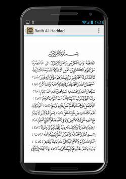 Ratib Al Haddad Lengkap apk screenshot