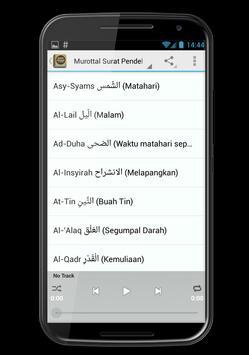 Surat Surat Pendek Al Quran screenshot 2