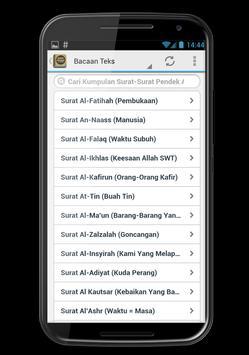 Surat Surat Pendek Al Quran apk screenshot