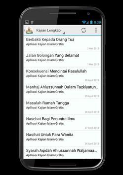 Kajian Ustad Yazid Jawas screenshot 4