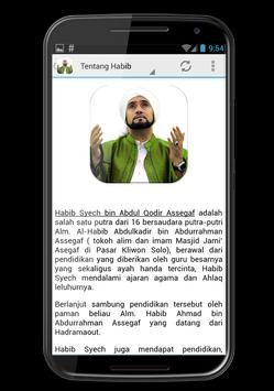 100 Sholawat Habib Syech screenshot 3