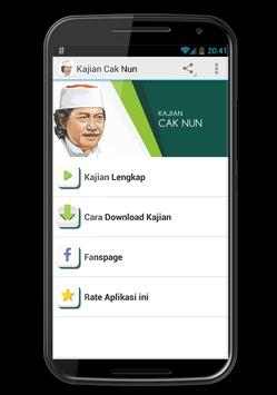 Ceramah Cak Nun apk screenshot