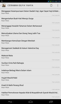 Ceramah Buya Yahya apk screenshot