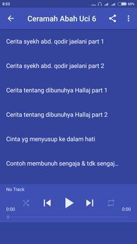 Ceramah Abah Uci Offline 6 poster