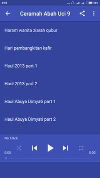 Ceramah Abah Uci Offline 9 poster