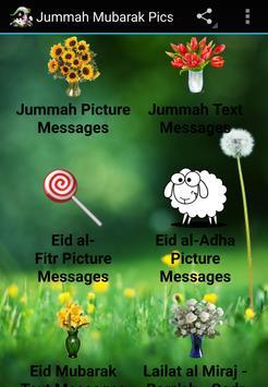 Jummah Eid Lailat Pic Messages poster
